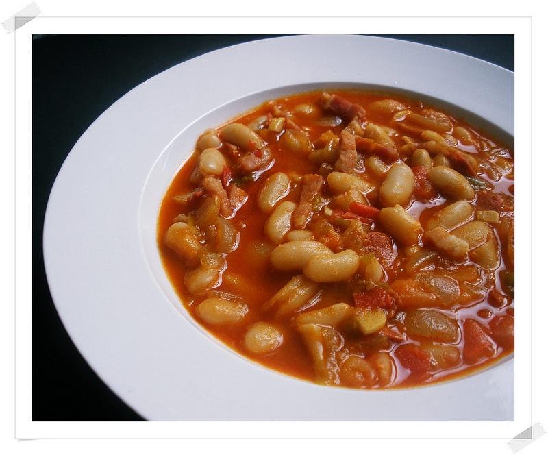 Alubias De Bote Con Panceta Y Chorizo Recetas Para Torpes