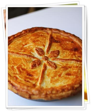 Bristish Pie de Pollo y Queso Azul