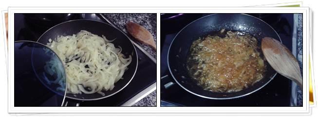 Cocción Cebolla Caramelizada