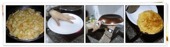 Pasos Voltear Tortilla de Patatas