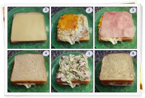 Pasos para hacer Sandwich de Pollo