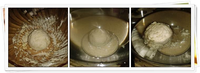 Pasos para hacer masa de aranque